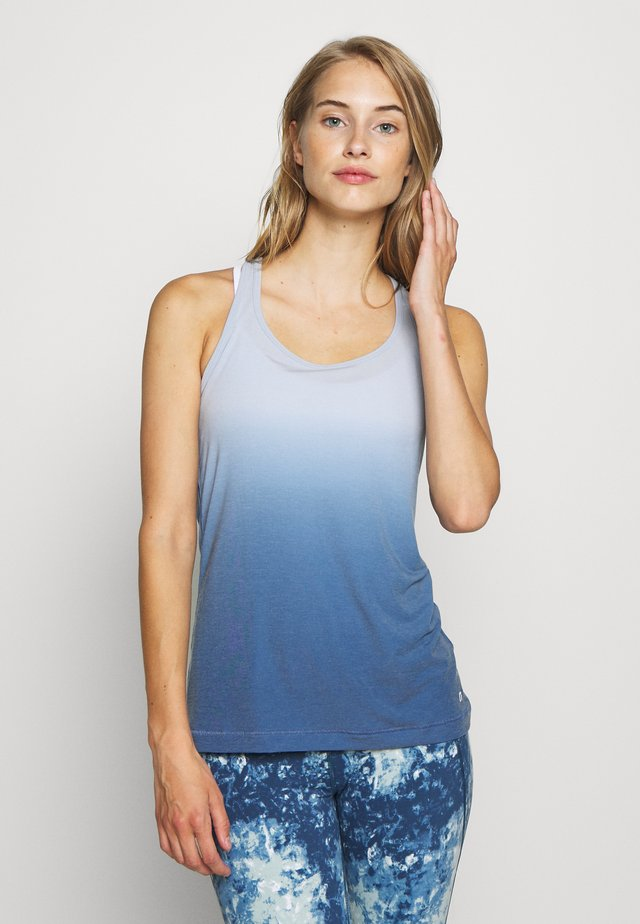 BREATHE TANK FASHION COLORS - Sportshirt - blue
