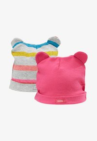 GAP - BEAR HAT 2 PACK - Berretto - pink - 1