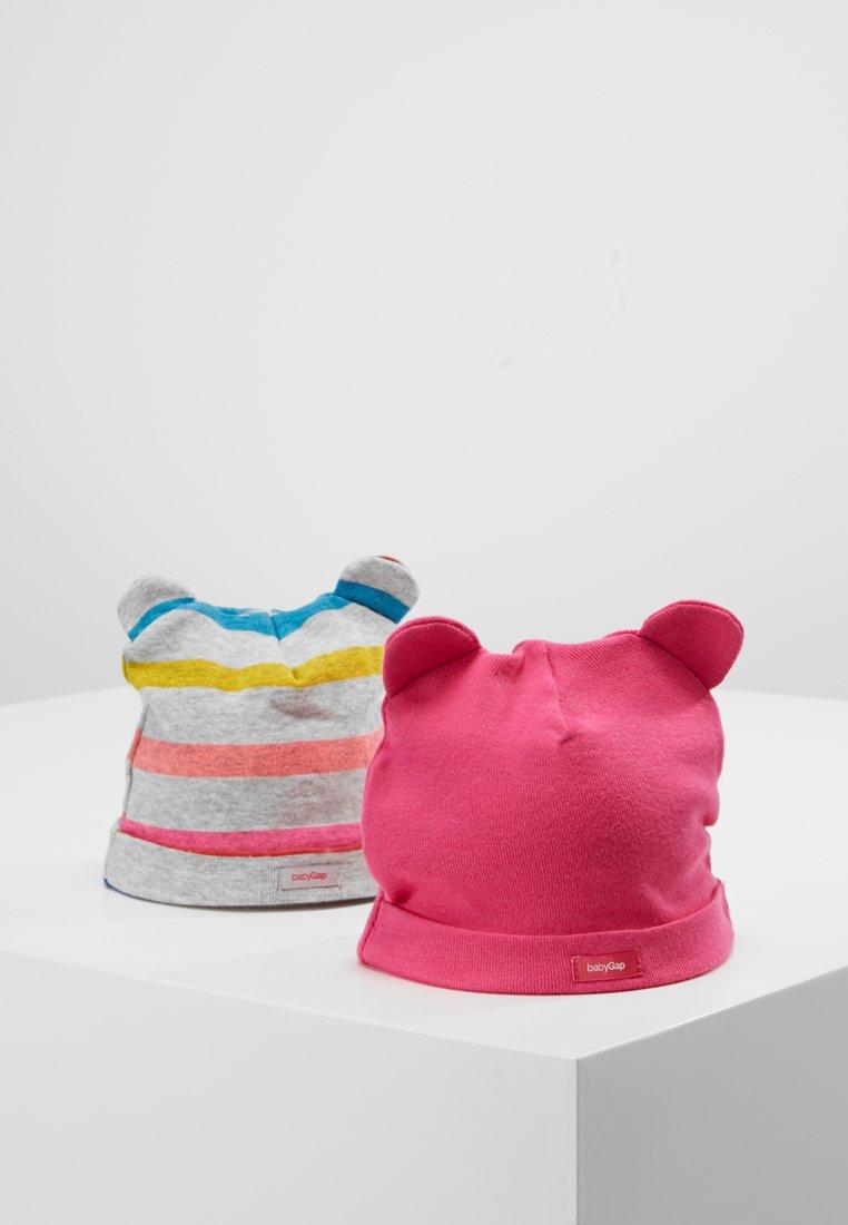 GAP - BEAR HAT 2 PACK - Mütze - pink