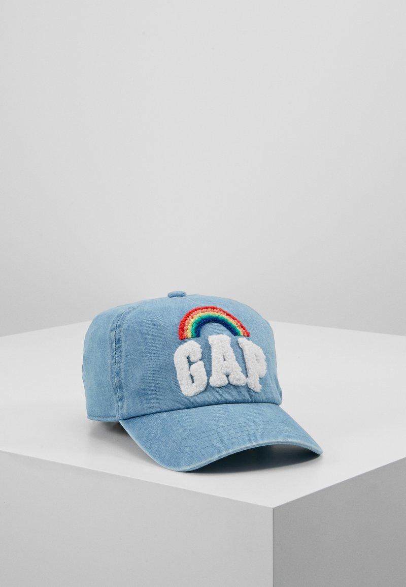 GAP - GIRLS RAINBOW - Cap - medium indigo