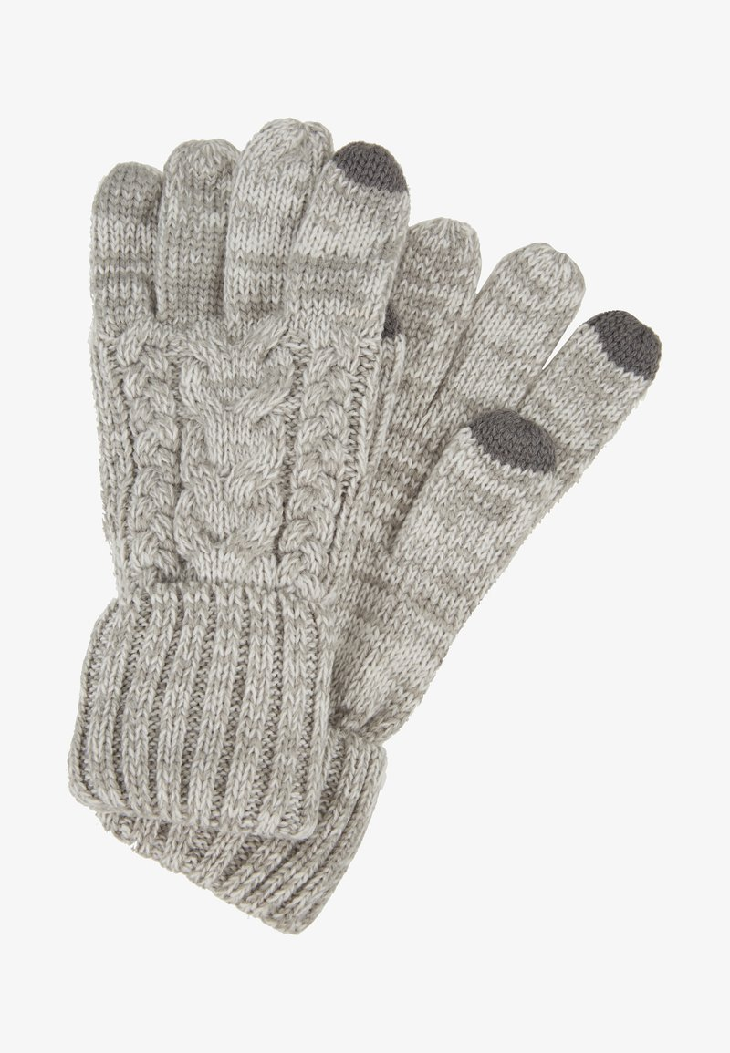 GAP - GIRL CABLE - Rękawiczki pięciopalcowe - grey heather