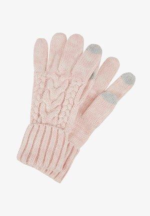 GIRL CABLE - Handschoenen - pink standard