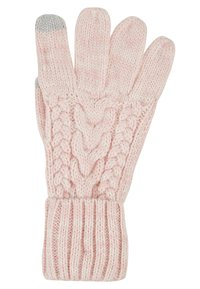 GAP - GIRL CABLE - Gloves - pink standard - 1