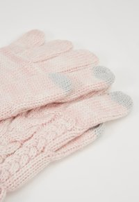 GAP - GIRL CABLE - Gloves - pink standard - 3