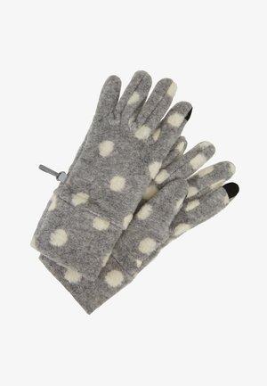GIRL DOT - Gloves - grey heather
