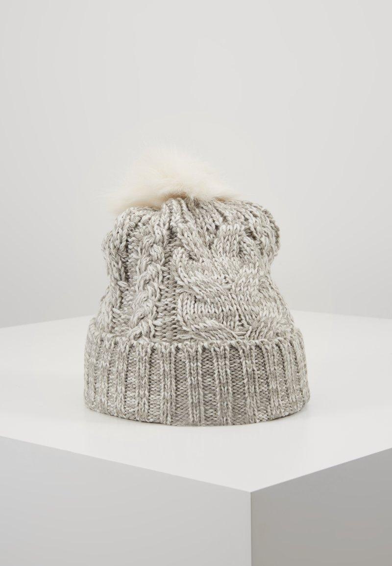 GAP - GIRL CABLE HAT - Bonnet - grey heather