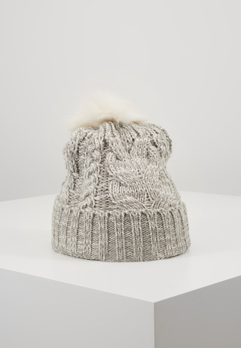 GAP - GIRL CABLE HAT - Czapka - grey heather