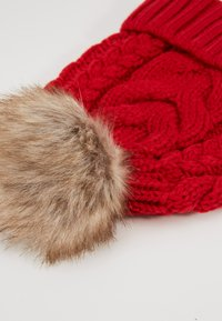 GAP - GIRL CABLE HAT - Muts - modern red - 2
