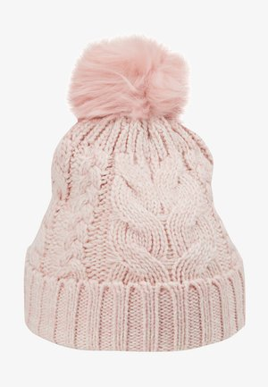 GIRL CABLE HAT - Mütze - pink standard