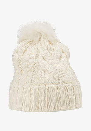 GIRL CABLE HAT - Mössa - ivory frost