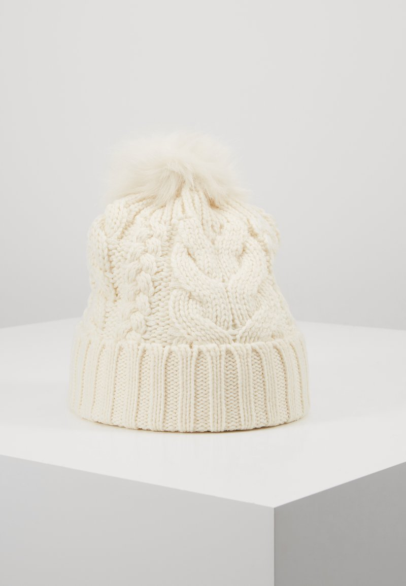 GAP - GIRL CABLE HAT - Huer - ivory frost