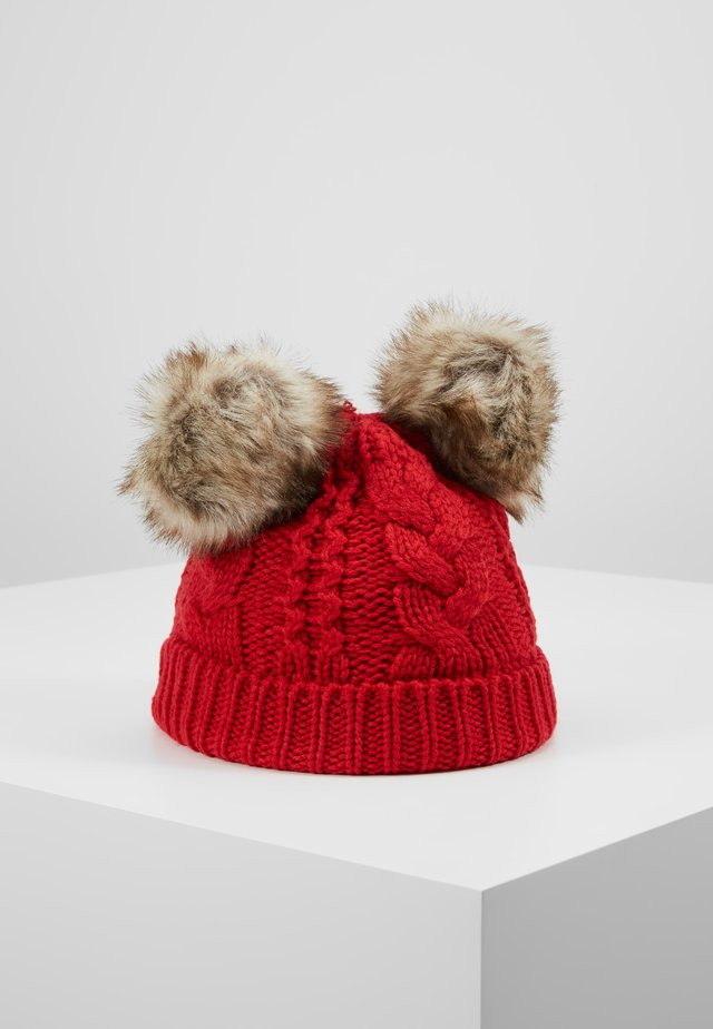 TODDLER GIRL CABLE HAT - Beanie - modern red