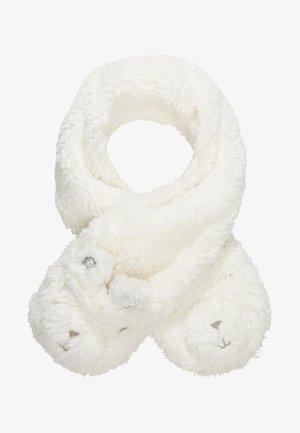 TODDLER GIRL BEAR - Bufanda - ivory frost