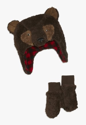 TODDLER GIRL BEAR SET - Beanie - bear