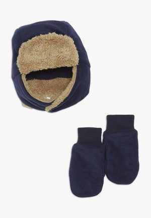 TODDLER GIRL SET - Czapka - tapestry navy