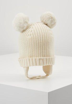 POM BABY - Beanie - ivory frost