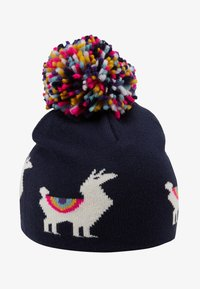 GAP - LLAMA HAT - Muts - navy uniform - 1