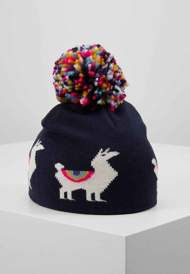 LLAMA HAT - Bonnet - navy uniform