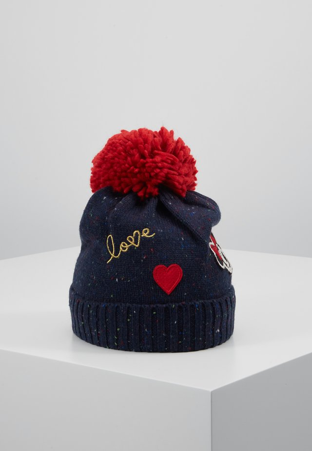 MINNIE MOUSE HAT - Čepice - navy uniform