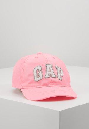 LOGO HAT - Lippalakki - neon impulsive pink
