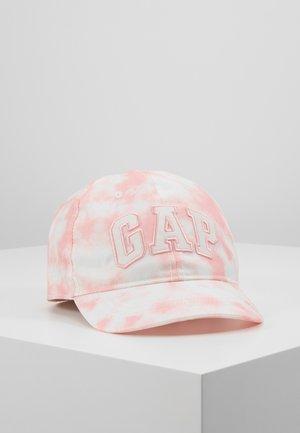 LOGO - Kšiltovka - pink tie dye