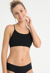 GAP - SEAMLESS RACERBACK BRALETTE - Top - true black - 0