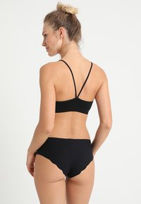 GAP - SEAMLESS RACERBACK BRALETTE - Top - true black - 2