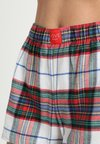 GAP - SHORT - Pyjama bottoms - white/red