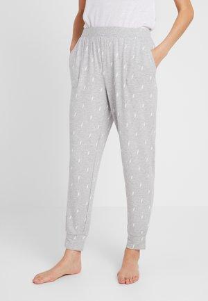 LOUNGE TERRY PANT - Pyžamový spodní díl - grey lightning bolt