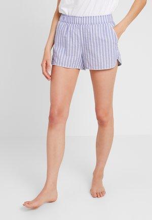 SHORT - Spodnie od piżamy - blue seersucker