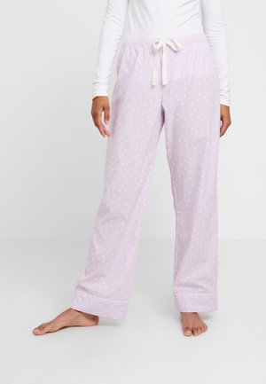 LONG BOTTOM - Pyžamový spodní díl - purple