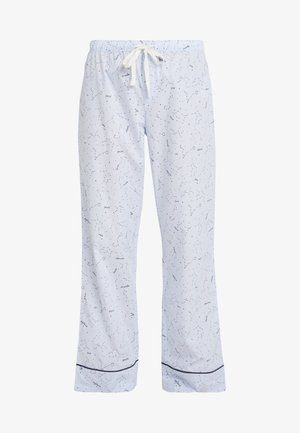LONG BOTTOM - Pyjamasbukse - celestial blue