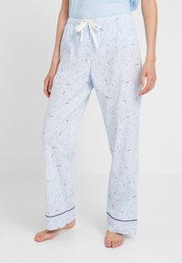GAP - LONG BOTTOM - Pyjamasbukse - celestial blue - 0