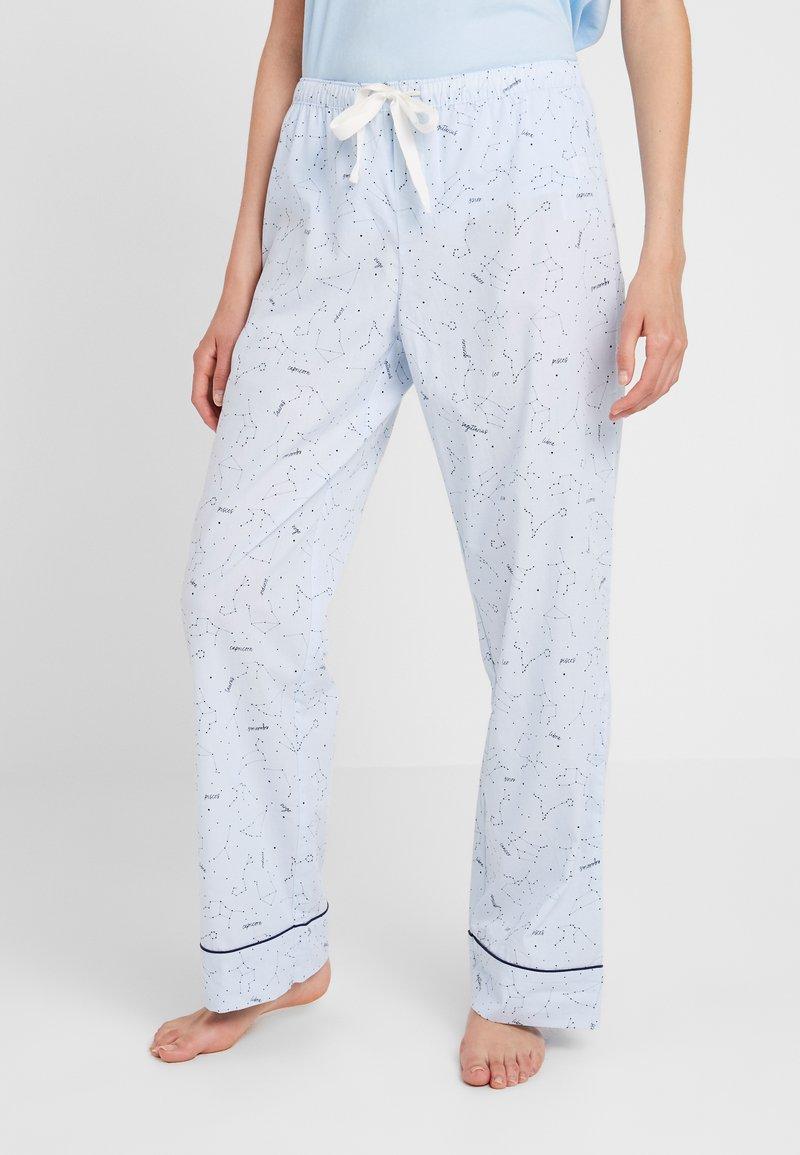 GAP - LONG BOTTOM - Pyjamasbukse - celestial blue