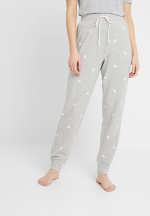 LOUNGE TERRY PANT - Pyjamasbukse - grey snowflake