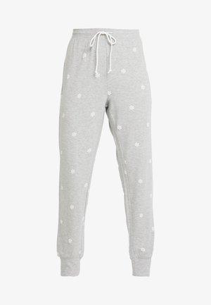 LOUNGE TERRY PANT - Pyjamabroek - grey snowflake
