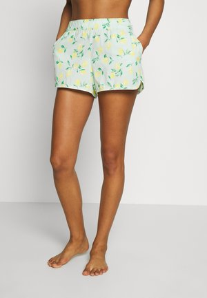 POPLIN SHORT - Pantalón de pijama - mint