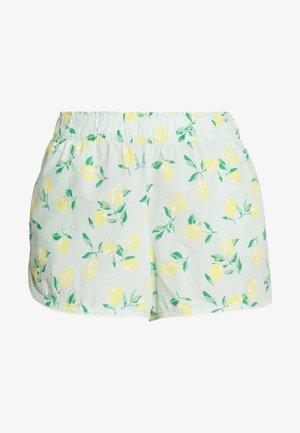 POPLIN SHORT - Pyjamabroek - mint