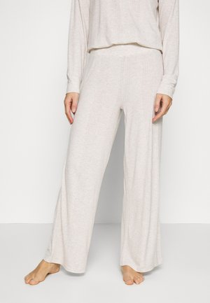 DROP NEEDLE PANT - Pyjama bottoms - oatmeal heather