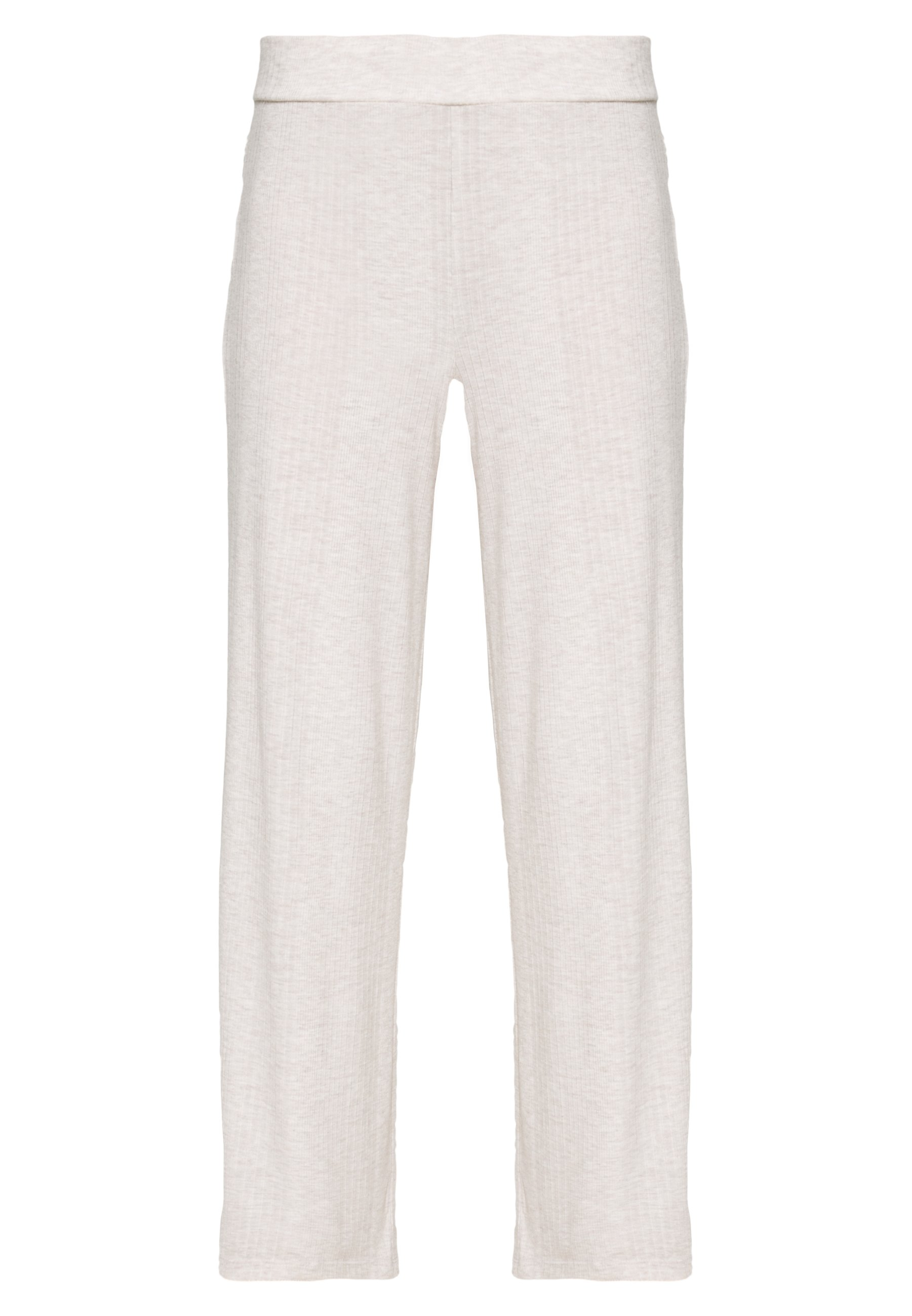 GAP DROP NEEDLE PANT - Pantaloni del pigiama - oatmeal heather OmwIt925