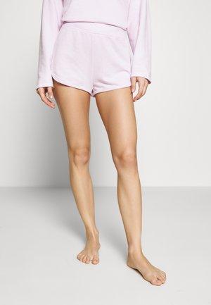 LOUNGE TEXTURED - Pyžamový spodní díl - whitened lilac