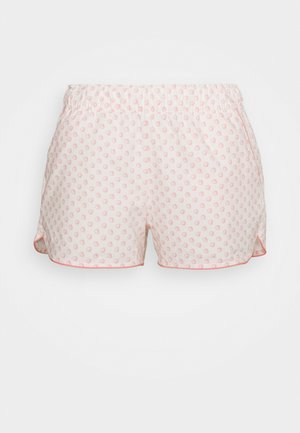 SUM POPLIN SHORT - Pyjama bottoms - white/coral