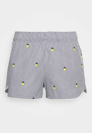 SUM POPLIN SHORT - Pyjamabroek - light blue/yellow