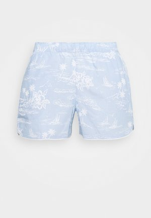 SUM POPLIN SHORT - Pyjamasbukse - blue hawaiian