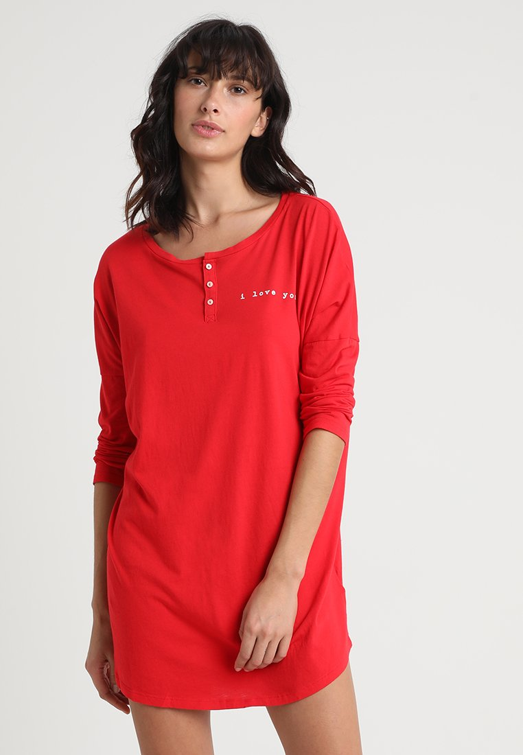 GAP - FOREVER FAVORITE SLEEPSHIRT - Nachthemd - pure red