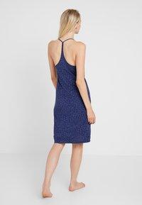 GAP - STRAPPY DRESS - Noční košile - cheetah blue - 2