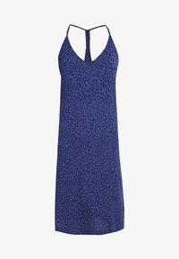 GAP - STRAPPY DRESS - Noční košile - cheetah blue - 4