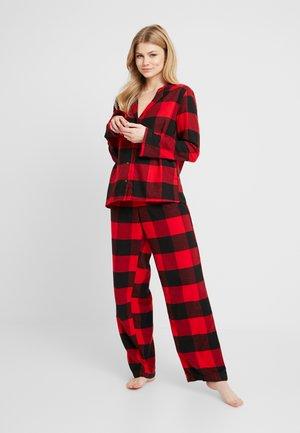 SLEEP SET - Pyžamová sada - red/black