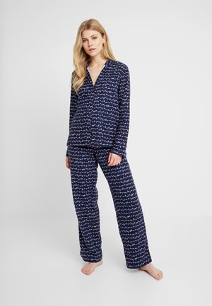 SLEEP SET - Pyjama set - navy