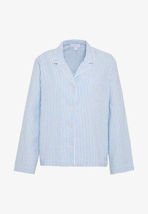 POPLIN SLEEPSHIRT - Pyjamasoverdel - blue/white